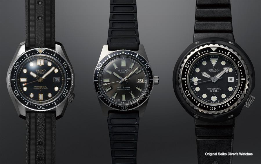 Celebrating 55 years Of Seiko Diver's Watches