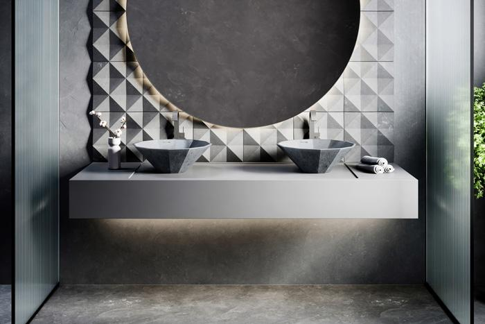 Nuance Studio Launches Opulent Fiore Washbasins