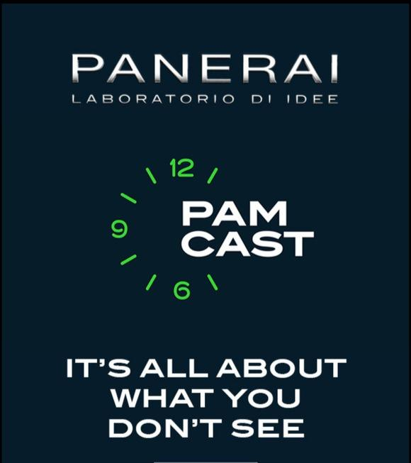 Panerai Introduces Pamcast - A Digital Storytelling Experience
