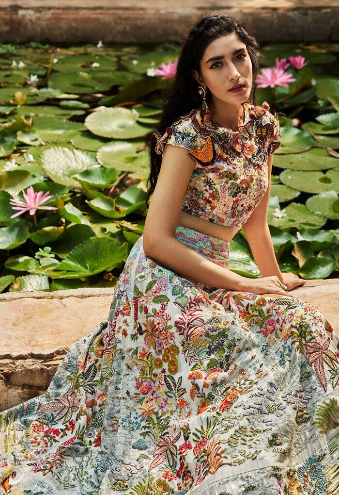 Rahul Mishra Presents Digital Couture – An Ode To Nature