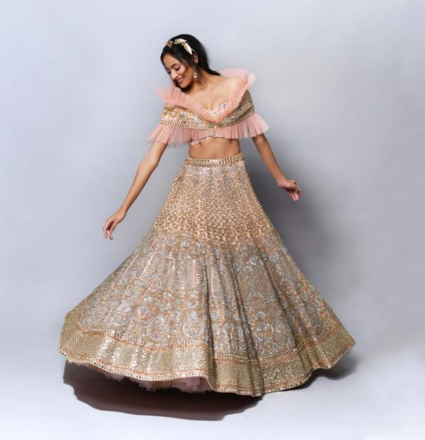 Suneet Varma  Couture Closes The First Day Of India's First Online Couture Week