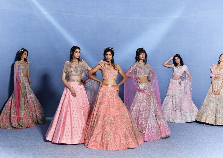 Suneet Varma Closes The First Day Of India's First Online Couture Week