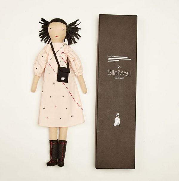 Introducing the Joy Project - a limited edition range of hand-crafted dolls by Genes Lecoanet Hemant X Silai Wali