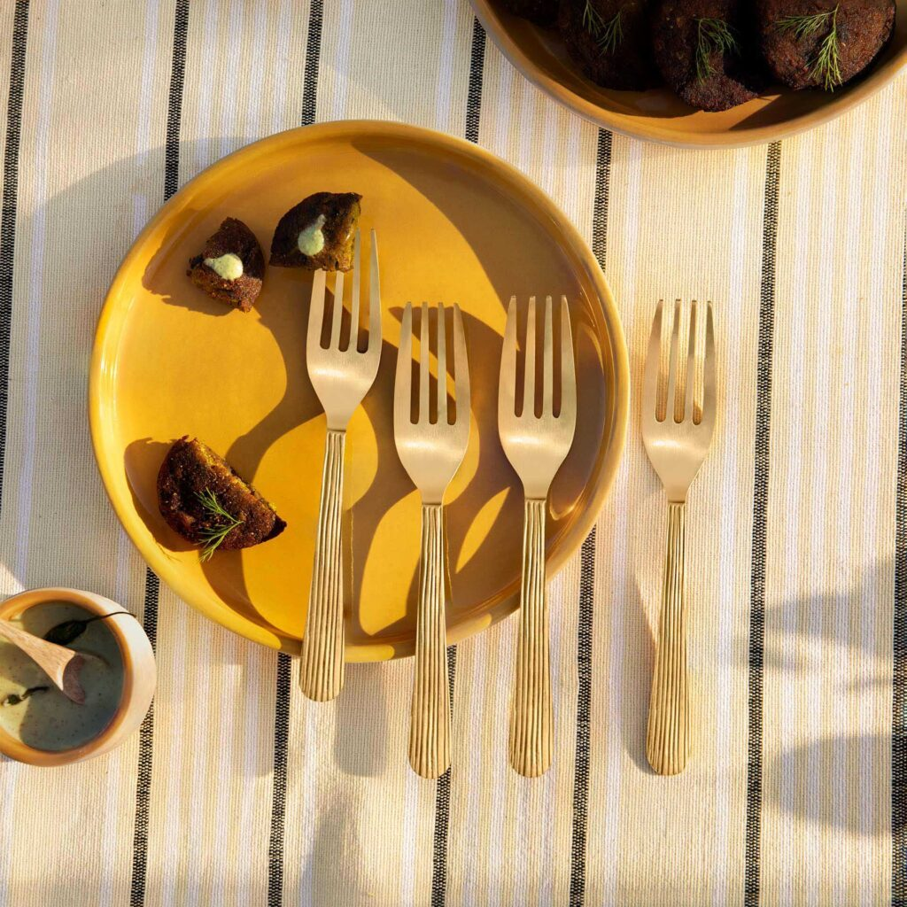 Lifestyle home décor brand Ellementry launches stunning furniture range and brass cutlery set.