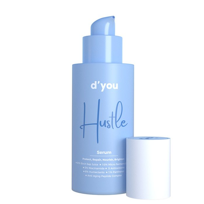 d'you Hustle Review - This new serum for skin - Hustle by d'you aims to lessen your multiple-step skincare routine
